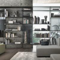 Книжный шкаф Rimadesio Wind